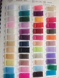 Wholesale tulle fabric color chart for select