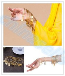 Wholesale hot belly dance bracelet Egyptian dance costumes accessories Indian dance hand catenary belly dance wristband jewelry