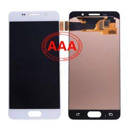 LCD de haute qualité pour Samsung Galaxy A3 Display Touch Screen Digital Converter, noir blanc Commande mixte Livraison gratuite
