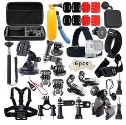 outdoor sports HD package accessories kit pro4 set compatible accessories with ant camera, combination large bag bike rack self timer from rack camera manufacturers