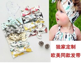 Wholesale Fashion Headbands For Girls Baby Hair Accessories Head Bands Infants Kids Headband Childrens Accessories Kid Hair Bands Lovekiss C25168