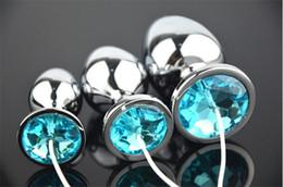 2016 nuevo enchufe anal del metal con los accesorios unisex del juguete del sexo del choque eléctrico del alambre DIY de la joyería libera epacket