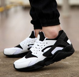 online shopping New Arrival Best Quality Men and Women Air Trainers Huarch Sport Shoes Athletic Sneakers Size