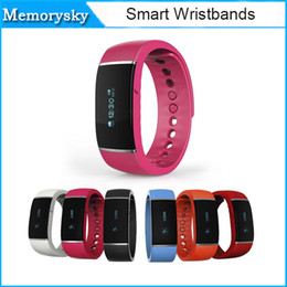 online shopping intelligent Bluetooth Sport Smartband E band S55 Fitness Tracker Sleep Tracker Camera Mood Tracker for IOS Android Phone Health