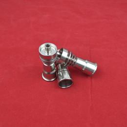 Clavos de titanio GR2 Titanio puro clavo clavo sin clavo 14 18 mm para el agua Tubo de vidrio bong Fumar hecho de China al por mayor