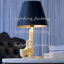 Foyer Reading assis salon décoration moderne lampe de table de bureau pistolet pistolet table de chevet pistolet lumière lampe de table