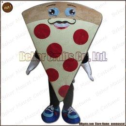 Wholesale Costume de mascotte de pizza l expédition libre adulte bon marché de bande dessinée de mascotte de pizza de peluche de haute qualité accepte l ordre d OEM