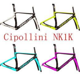 2016 nuevo Cipollini NK1K T1000 1k o 3K que compite con el marco completo de la bicicleta de la bicicleta del marco del camino del carbón venden S3 S5 R5 C60 795 tiempo merida gigante