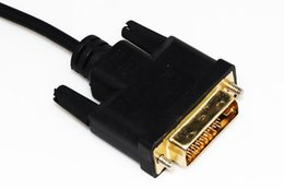 2017 universal adapter plate High speed HDMI to DVI 24+1 pin adapter Gold plated Male to male Cable For 1080P HD HDTV HD2M