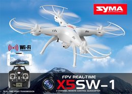 100% Oraginal SYRA X5SW X5SW-1 WIFI Drone RC 2.4GHz 4CH Temps réel HD FPV Caméra Hélicoptères RC Drones 6 Axe Quadcopter Gyro Quad copter