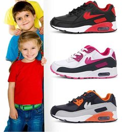 2016 Shoes Run Air Max 2016 Free Air Shipping New Cheap Classical Maxes Running Shoes For Boys And Girls Brand Soft Cushion Outdoor 90 Sneakers Children shoes