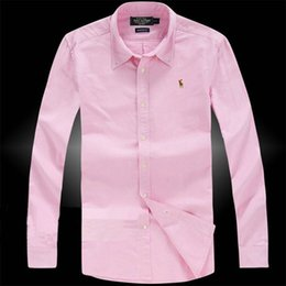 Embroidered long sleeve dress shirt