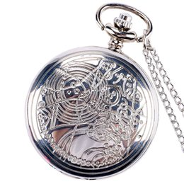 discount mens pocket watch fob 2017 mens pocket watch fob on whole antique pattern design doctor who mens fob watch best gift pocket watches necklace chain mens pocket watch fob on