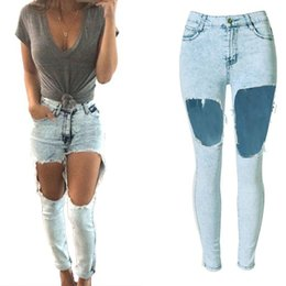 Skinny Jeans With Holes For Women Billie Jean