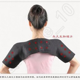 Wholesale 300pcs CCA3770 High Quality Self Heating Ceramic Shoulder Pad Belt Band Wrap Support Brace Belt Protector Shoulder Pad Massage Sholder Belt