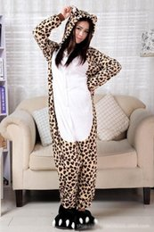 Discount Leopard Flannel Pajamas | 2017 Leopard Flannel Pajamas on ...