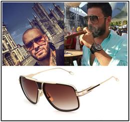 Discount woman uv sunglasses DITA sunglasses ,dita grand-master five men brand designer metal sunglasses vintage shiny 18Kgold coating mirror lens SUN GLASSES UV 400