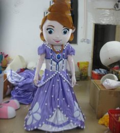 Wholesale Hot sale new design adult mascot costume princess sofia adult sofia the first mascot costume