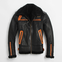Discount B3 Leather Bomber Jacket | 2017 B3 Leather Bomber Jacket ...