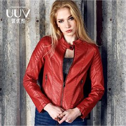 Womens Red Leather Motorcycle Jacket Online | Womens Red Leather ...