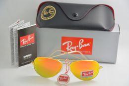 Wholesale High Quality Men Women Gold frame Glass lens coating polarized Sun