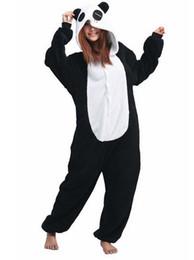 Wholesale Adult Cosplay Lover Panda Kigurumi Onesie Kigurumi Novelty Hooded Lounge Wear Homewear Pyjamas Sleepwear Set Nightwear K66L