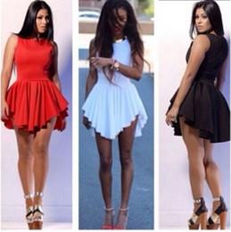 Discount Sleeveless Short Sun Dresses | 2017 Sleeveless Short Sun ...