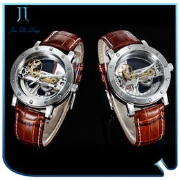 discount best skeleton watches men 2017 best skeleton watches best selling men skeleton watch multi functions automatic mechanical 50m waterproof double face stainless steel wrist watch for men