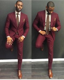 Grey And Burgundy Suit | My Dress Tip