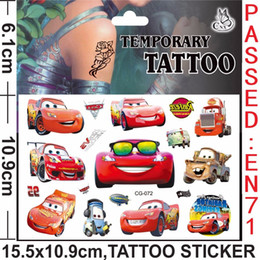 discount safe cars for kids newest design racing car children skin art flash adhesive henna waterproof