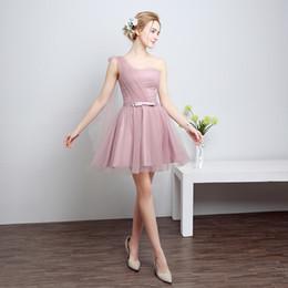 Wholesale Short Homecoming Dress Cocktail Dress Fashionable Strapless Short Bridesmaid Dresses Elegant A Line Party Dress