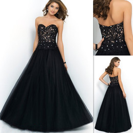 Cheap Inexpensive Evening Long Black Gowns | Free Shipping ...