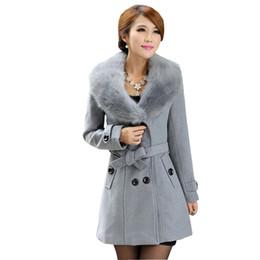 Womens Wool Blend Coats Plus Size Suppliers | Best Womens Wool ...
