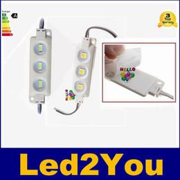 Супер яркие светодиодные модули 6500K холодный белый SMD 5630 / SMD 5050 RGB LED Chip Wateproof IP67 R / G / B / теплый белый 12V водить Реклама свет