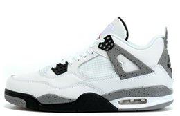 online shopping Send Without Box retro Premium Black man sneaker White Cement man basketball shoes AIR size eur