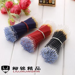 Discount pen refills blue color refils Length 12.9cm=5.07 inches Unique Syringe Pens Refills Ball point refill Black red and blue color 500pcs lot not yeti cup for student