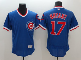 online shopping Retro Kris Bryant Jersey Flexbase Chicago Cubs Throwback Kris Bryant Blue Baseball Jersey Pullover All Flexbase Style for fans