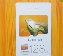 Las tarjetas de memoria de tamaño completo tarjeta Micro SD de la alta calidad 2016new EVO tarjeta de memoria 8G 16G 32G 64G 128G 256G 64GB TF con el paquete al por menor