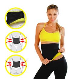 Wholesale Hot Shapers Body Weight Loss Waist Cincher Neoprene Slimming Waist Hot Belt Training Corsets Latex Strength Sporting Shaper