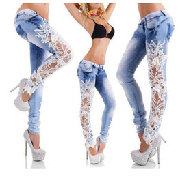 Discount Womens Jeans Lace | 2017 Womens Jeans Lace on Sale at ...