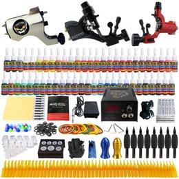Wholesale Solong Tattoo Complete Tattoo Kit Pro Rotary Machine Guns Inks Power Supply Needle Grips TK355