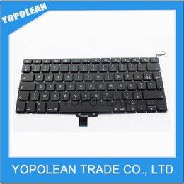 Подлинная FR французская клавиатура для Macbook Pro 13 '' A1278 Французская FR Франция Замена клавиатуры высокого качества