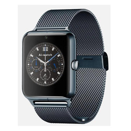 online shopping Newest Bluetooth Smart Watch Z50 with heart rate SIM card TF mp3 mp4 compatible with Android Phones OTH302