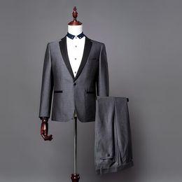 Discount Grey Suit Photos | 2017 Grey Suit Photos on Sale at ...