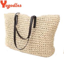 Discount Big Straw Beach Bags | 2017 Big Straw Beach Bags on Sale ...
