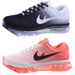 2016 Shoes Run Air Max (With Box) Wholesale air-bubble cushioned Max Shoes 2017 Mens High Quality Women Running Shoes Surface Breathable Max 2017 Shoes Sneakers Shoes Run Air Max sales