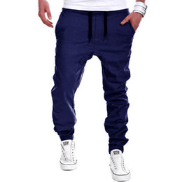 Discount Mens Casual Navy Blue Pants | 2017 Mens Casual Navy Blue ...