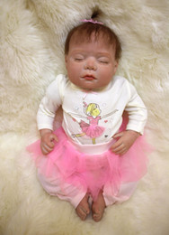 Wholesale 20 quot silicone reborn dolls babies Super high quality real newborn baby looking soft touch child love gift boneca baby alive