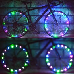 online shopping 30 LED Lights Water Resistant Bike Bicycle Light Cycling Wire Tyre Light Bicicleta Wheel Spoke Light Lamp Y0116
