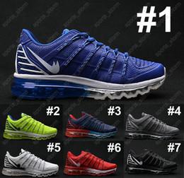 Discount Shoes Run Air Max China air Men Max 2016 II Nanometer shoes arrival air mesh breathable Running Shoes popular brand max authentic run sneakers air eur 40-46